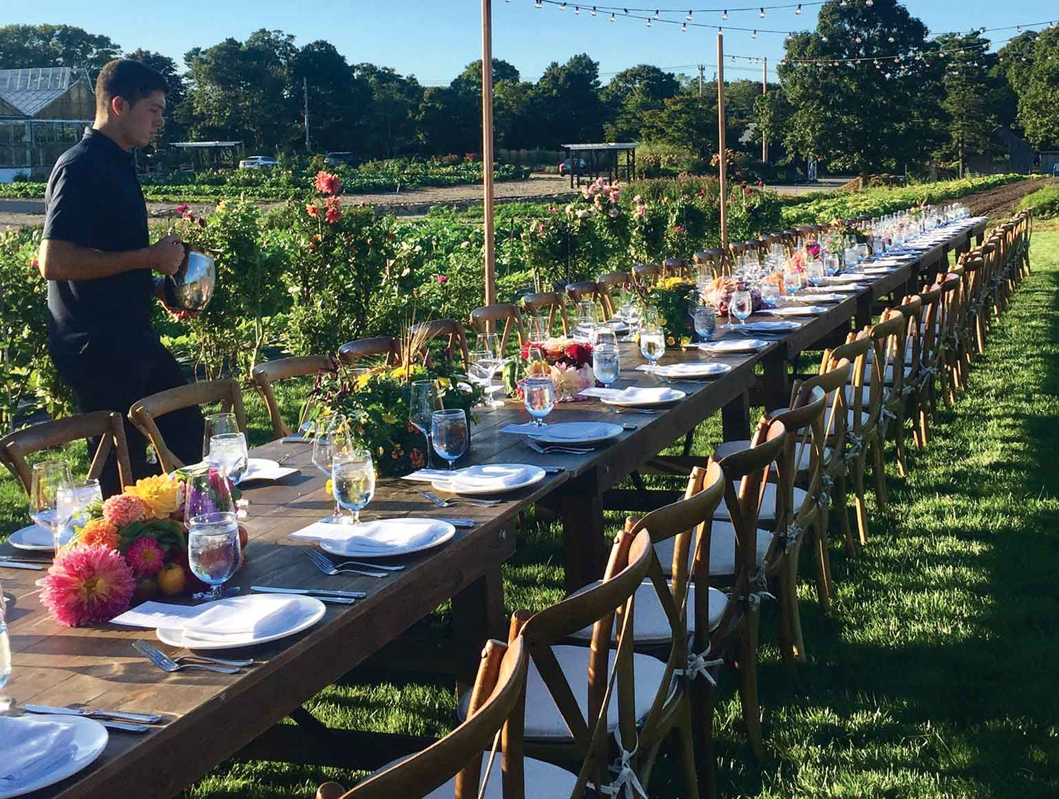 An Enchanting Garden Party – Chatham Living By The Sea