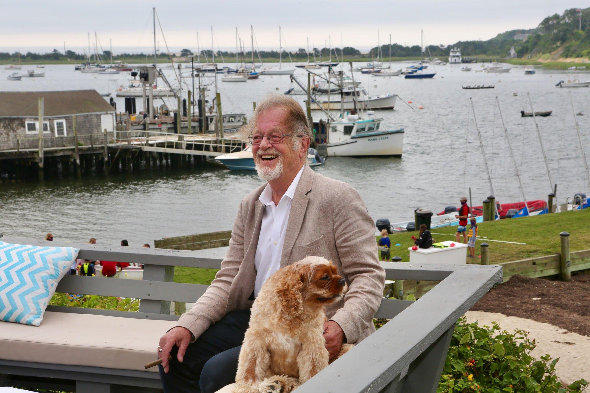 Bernard Cornwell: At Home in Chatham